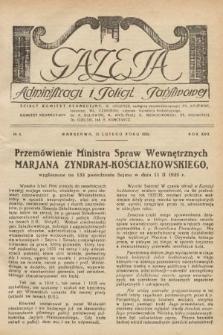 Gazeta Administracji i Policji Państwowej. 1935, nr4