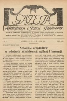 Gazeta Administracji i Policji Państwowej. 1935, nr9