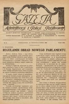 Gazeta Administracji i Policji Państwowej. 1935, nr24