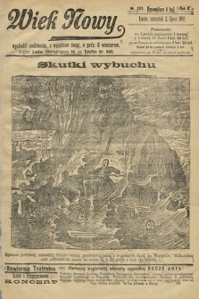 Wiek Nowy. 1902, nr303