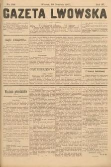 Gazeta Lwowska. 1907, nr284