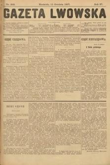 Gazeta Lwowska. 1907, nr289