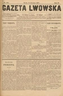 Gazeta Lwowska. 1907, nr291