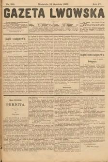 Gazeta Lwowska. 1907, nr295