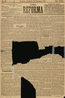Nowa Reforma. 1904, nr19