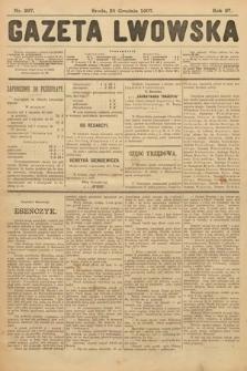 Gazeta Lwowska. 1907, nr297