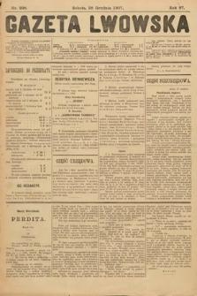 Gazeta Lwowska. 1907, nr298