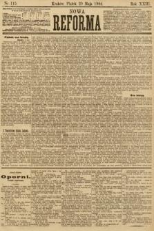 Nowa Reforma. 1904, nr115