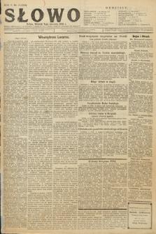 Słowo. 1926, nr3