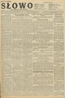 Słowo. 1926, nr20