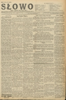Słowo. 1926, nr27