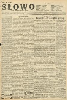 Słowo. 1926, nr47