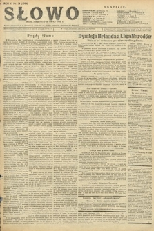 Słowo. 1926, nr54