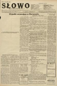 Słowo. 1926, nr109 [skonfiskowany]