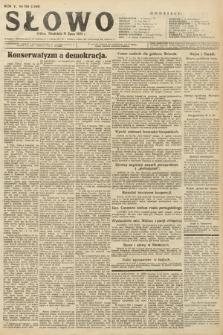 Słowo. 1926, nr159