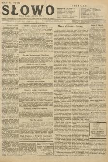 Słowo. 1926, nr179