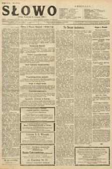 Słowo. 1926, nr189