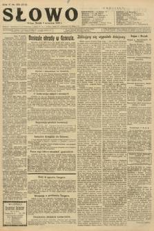 Słowo. 1926, nr203