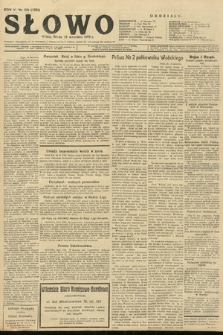 Słowo. 1926, nr215