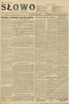 Słowo. 1926, nr217