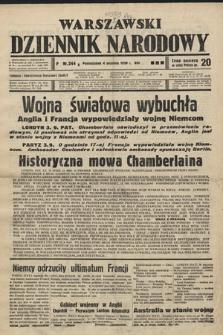 Warszawski Dziennik Narodowy. 1939, nr244 B