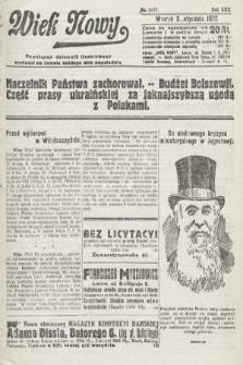 Wiek Nowy : popularny dziennik ilustrowany. 1922, nr6177