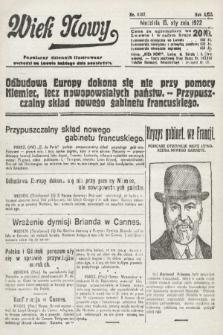 Wiek Nowy : popularny dziennik ilustrowany. 1922, nr6187