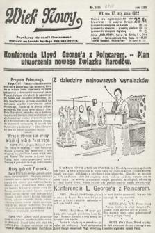 Wiek Nowy : popularny dziennik ilustrowany. 1922, nr6188
