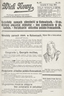 Wiek Nowy : popularny dziennik ilustrowany. 1922, nr6207