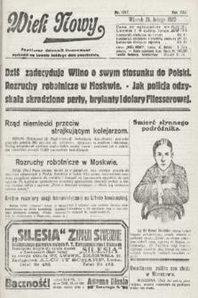 Wiek Nowy : popularny dziennik ilustrowany. 1922, nr6217
