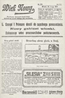 Wiek Nowy : popularny dziennik ilustrowany. 1922, nr6223