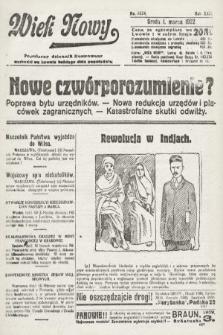 Wiek Nowy : popularny dziennik ilustrowany. 1922, nr6224