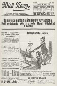 Wiek Nowy : popularny dziennik ilustrowany. 1922, nr6227