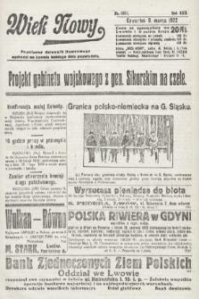 Wiek Nowy : popularny dziennik ilustrowany. 1922, nr6231
