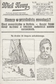 Wiek Nowy : popularny dziennik ilustrowany. 1922, nr6238