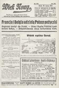 Wiek Nowy : popularny dziennik ilustrowany. 1922, nr6239