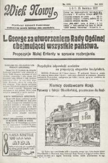 Wiek Nowy : popularny dziennik ilustrowany. 1922, nr6254