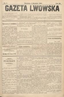 Gazeta Lwowska. 1898, nr5