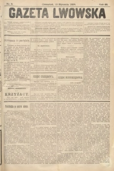 Gazeta Lwowska. 1898, nr8