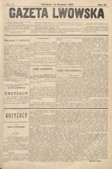 Gazeta Lwowska. 1898, nr11