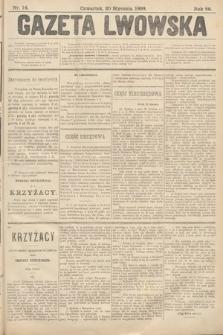 Gazeta Lwowska. 1898, nr14
