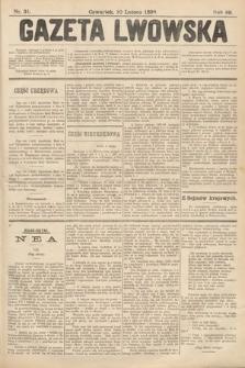 Gazeta Lwowska. 1898, nr31