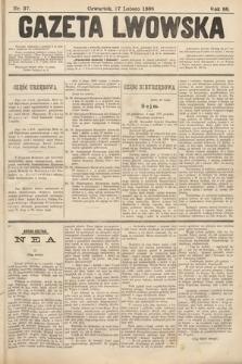 Gazeta Lwowska. 1898, nr37