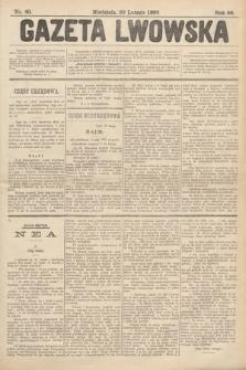 Gazeta Lwowska. 1898, nr40