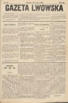 Gazeta Lwowska. 1898, nr41