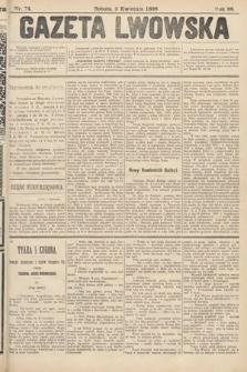 Gazeta Lwowska. 1898, nr74