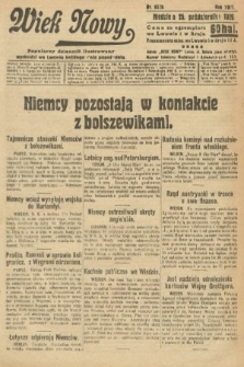 Wiek Nowy : popularny dziennik ilustrowany. 1919, nr5529