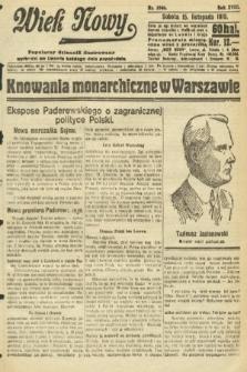 Wiek Nowy : popularny dziennik ilustrowany. 1919, nr5546