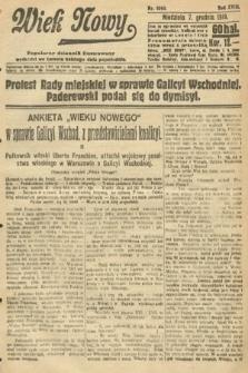 Wiek Nowy : popularny dziennik ilustrowany. 1919, nr5565