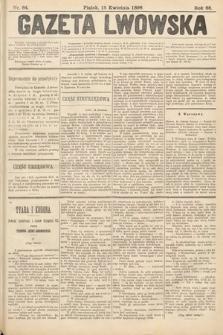 Gazeta Lwowska. 1898, nr84